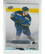 18/19 UD Overtime Wave 3 St. Louis Blues Vladimir Tarasenko card #153 - £1.62 GBP