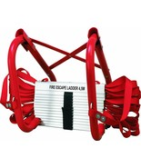 Steps of Fire Emergency Of Home 14 10/12ft Folding Holds up To 992.1lbs - $369.96