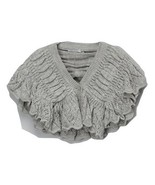 Miss Rabbit Trending Gray Crochet Sweater - Girls MSRP $40.99 SAVE $8.01 - $32.99