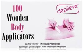 Depileve Wooden Body Applicators, 8 Ounce image 1