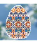 Mosaic Egg Spring Series 2018 seasonal ornament kit cross stitch Mill Hill  - $7.20