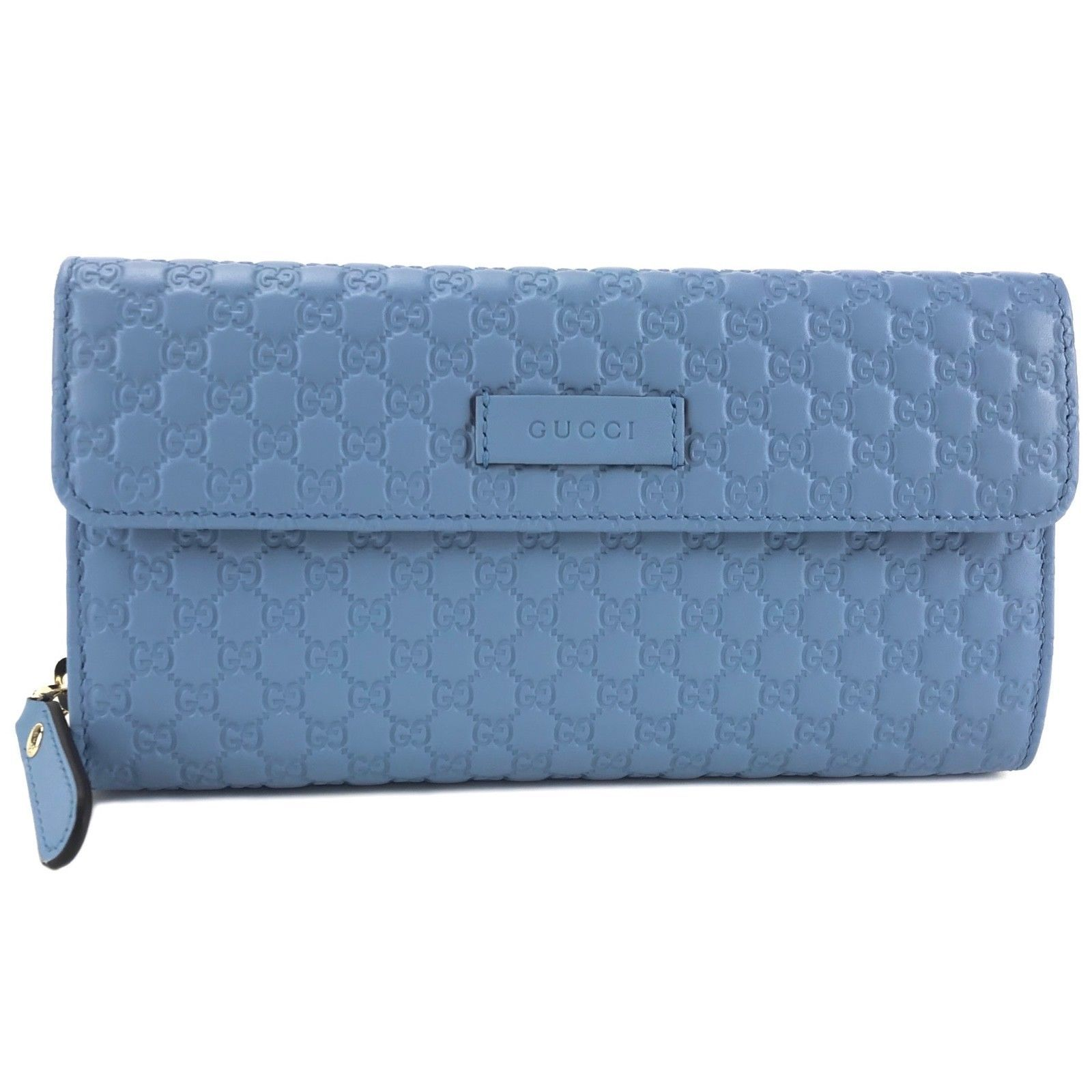 a207a7550fa5 GUCCI 449364 Microguccissima Blue Leather and 50 similar items