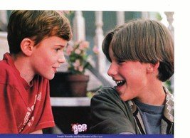 Brad Renfro Joseph Mazzello teen magazine pinup clipping together in the Cure