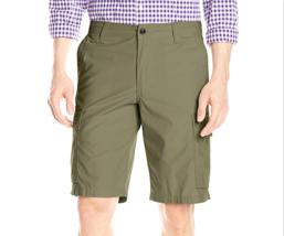$50 Dockers Men's Cargo Classic Fit Flat-Front Short, Olive, Size 32. - $24.74