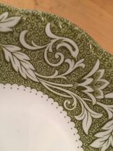 """Set of 2 vintage 60s J & G Meakin Renaissance (green) pattern  6 1/4"""" bowls image 4"""