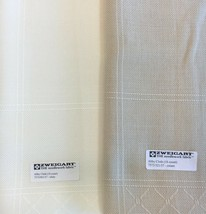 """Zweigart Abby Afghan 18 count Cross Stitch White or Cream 45"""" x 57""""  1.2 yards - $7.55+"""
