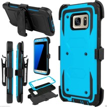 For Samsung Galaxy S7 Edge Outer Box Hard Case Cover w/ Belt Clip Holste... - $173,64 MXN