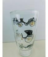 Vintage Set of 6 Mid Century Art Deco Tea Drink Glasses Hi Ball Classic ... - $28.69