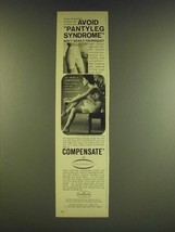 1966 Flexnit Compensate Panty Girdle Ad - Avoid Pantyleg syndrome - $14.99