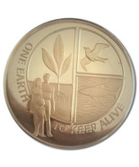 1972 One Earth To Keep Alive Proof Sterling Silver Round (.73 oz ASW) - $40.00
