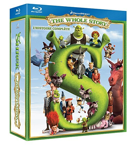 Shrek The Whole Story [Blu-ray]