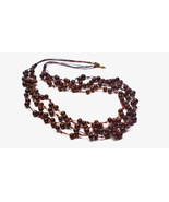 Multi Strand Black Necklace, Layered Necklace, Illusion Necklace, Nature... - $30.40