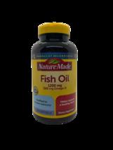 Nature Made Fish Oil 1200 Mg 360 Mg OMEGA-3 Liquid Softgels - 200 Count New - $14.50
