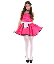 Adult Women's French Maid Uniform Costume   Pink Cosplay Costume - $23.85