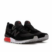 NEW BALANCE MEN'S MS574AB SNEAKERS BLACK 9.5 M US - $62.36