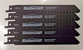 "Mastercraft By Bosch 6"" x 24 TPI Reciprocating Saw Blades 1630111 5 Pieces - $4.46"