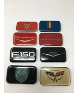 Racing Champions Badge Plaque Nameplate Lot of 8 Chevy Dodge Ford #17-1690A - $13.30