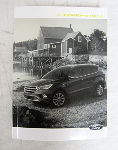 ford escape owners manual guide book set  case