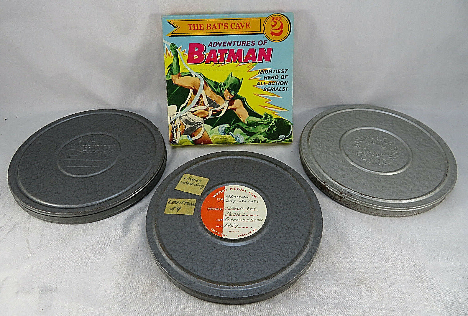 Primary image for Lot 3 Films & Adventures of Batman The Bats Cave Episode 2 Super 8 MM Home Movie