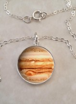 Sterling Silver 925 Necklace Jupiter Planet Space Astronomy - $30.00+