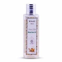 Khadi Natural Herbs Wheat Germ Massage Oil Regenerate Mature Damaged Ski... - $8.89
