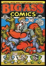 Big Ass Comics 2 R Robert Crumb art underground comix 2nd Printing 1971 ... - $30.00