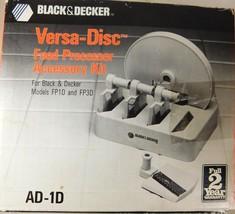 Black & Decker Versa Disc Food Processor Accessory Kit - €5,94 EUR