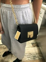Michael Kors Tina Small Convertible Crossbody Bag Clutch Saffiano Leather $228 - $69.29