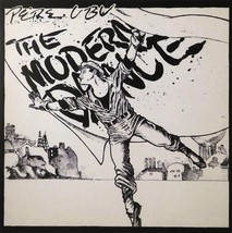 "Pere Ubu - The modern dance (Album Cover Art) - Framed Print - 16"" x 16"" - $51.00"