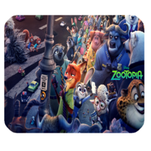 Mouse Pad Zootopia Nick & Judy The Animation Rabbits Movie For Game Fantasy - $9.00