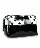 Liquor Brand Jawbreaker Cosmetics Bag With Bow Skulls Polka Dots Gothic ... - $20.00