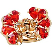 Sweet Hair Claw Elegant Hair Clip Small Size Claw/Hairpin(Red)