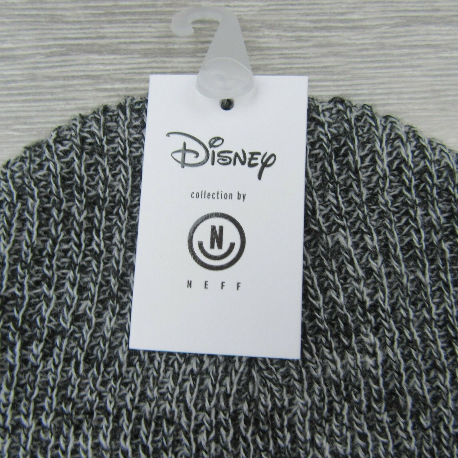 454ec0474bb Disney Collection Neff Mickey Mouse M28 Grey Beanie Unisex One Size Fit