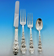 Ailanthus by Tiffany & Co Sterling Silver Flatware Set 12 Service 48 pcs Dinner - $9,995.00
