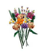 Flower Bouquet Brick with LED lighting Kit, compatible with LEGO 10280 f... - £43.35 GBP