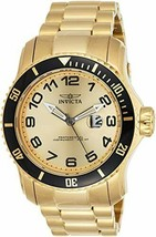 Invicta Stainless Steel Pro Diver Champagne Dial Gold-plated Men's Watch 15350 - $98.01