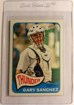Gary Sanchez 2014 Topps Heritage Minor League Mask On #9 NY Yankees Base... - $2.14