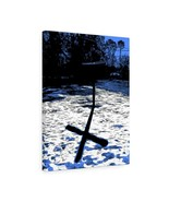 "Shadow of the Cross Canvas Giclée 18"" x 24"" Gallery Wrapped Print by BL ... - $69.99"