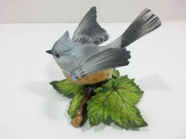 THE LENOX GARDEN BIRD COLLECTION Tufted Titmouse (Fine Porcelain 1986) image 7