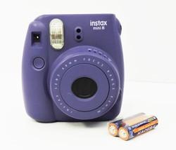 FUJIFILM Instax Mini 8 Instant Film Camera Purple Grape - $29.99