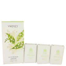 Lily Of The Valley Yardley 3 X 3.5 Oz Soap 3.5 Oz For Women  - $21.13