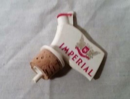 VINTAGE HIRAM WALKER IMPERIAL WHISKEY LIQUOR BOTTLE POURER POUR SPOUT - $25.73