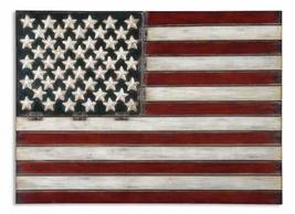 Uttermost American Flag Wall Art 1 x 36 x 25.75, Red/White/Blue - €146,25 EUR