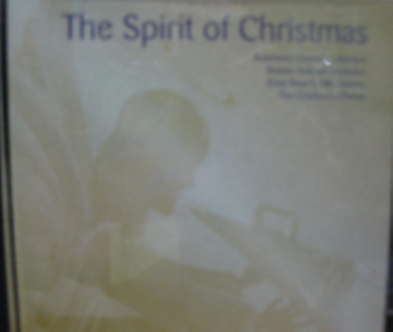 The Spirit Of Christmas By  Various Artists Cd