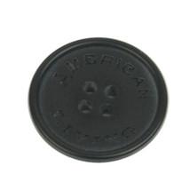 "Ralph Lauren ""American Living"" black logo Replacement Main Front button .80"" - $4.90"