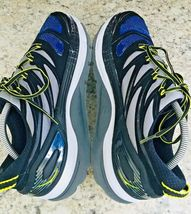 HOKA One One Constant Blue Yellow & Black running Shoes Men's SIZE 10 image 6