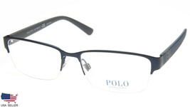 New Polo Ralph Lauren Ph 1162 9310 Matte Blue Eyeglasses Frame 56-17-145 B34mm - $84.14