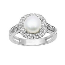 7.20 Carat Pearl Shining Gemstone 925 Sterling Silver Women Ring Sz 9 SH... - $31.47