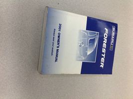2001 Subaru Forester Operators Owner Owners Manual OEM Factory - $39.59