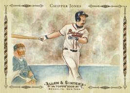 2009 Topps Allen and Ginter Baseball Highlights #AGHS17 Chipper Jones  - $0.50